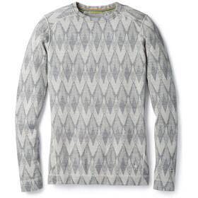 Smartwool Merino 250 Baselayer Pattern - Ropa interior Mujer - gris